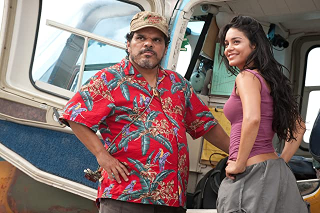 Luis Guzmán and Vanessa Hudgens in Journey 2: The Mysterious Island (2012)