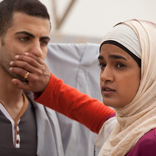 Jalal Masrwa and Lamis Ammar in Sand Storm (2016)