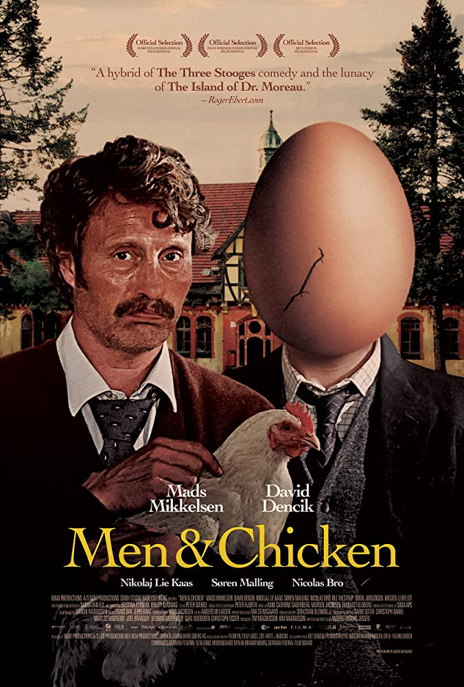 Men & Chicken cartel de la película