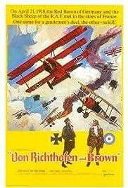 Von Richthofen and Brown(1971) Poster - Movie Forum, Cast, Reviews