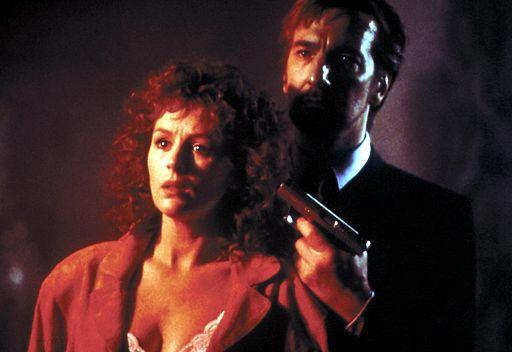 Alan Rickman and Bonnie Bedelia in Die Hard (1988)