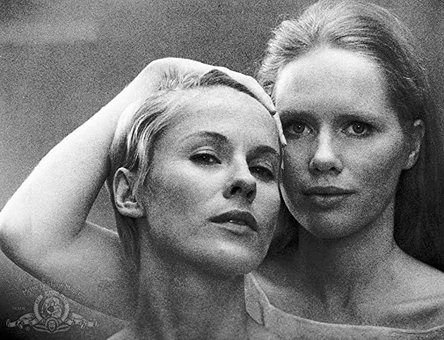 Bibi Andersson and Liv Ullmann in Persona (1966)