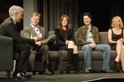 William H. Macy, Samantha Mathis, Kim Delaney, Anderson Cooper, and Ron Livingston at an event for Nightmares & Dreamscapes: From the Stories of Stephen King (2006)