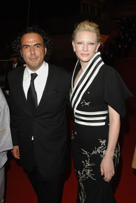 Cate Blanchett and Alejandro G. Iñárritu at Babel (2006)