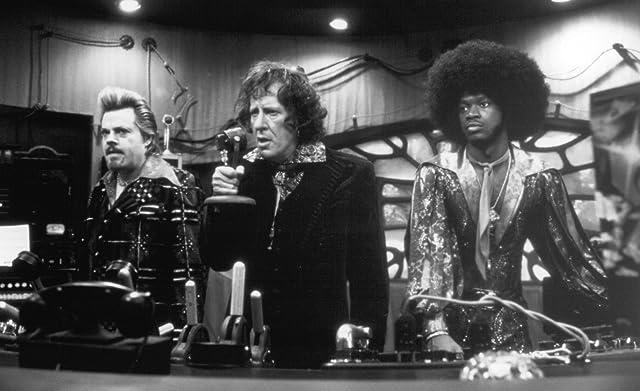 Geoffrey Rush, Eddie Izzard, and Pras Michel in Mystery Men (1999)