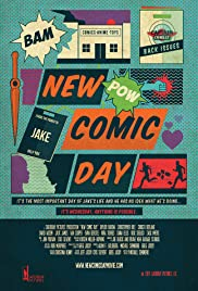 New Comic Day Poster