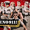 Carlos Alazraqui, Mary Birdsong, Robert Ben Garant, Kerri Kenney, Thomas Lennon, Niecy Nash, Cedric Yarbrough, and Wendi McLendon-Covey in Reno 911! (2003)