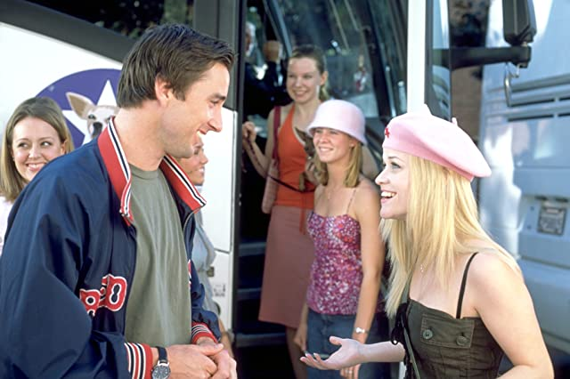 Reese Witherspoon and Luke Wilson in Legally Blonde 2: Red, White & Blonde (2003)