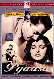 Pyaasa(1957) Poster - Movie Forum, Cast, Reviews
