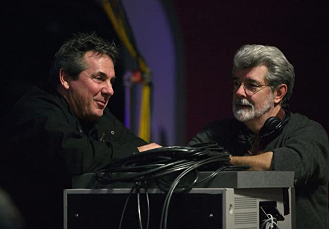 George Lucas and Rick McCallum in Star Wars: Episode III - Revenge of the Sith (2005)