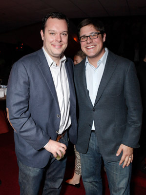 Michael Gladis and Rich Sommer at 127 Hours (2010)