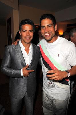 Esai Morales and Adam Rodriguez