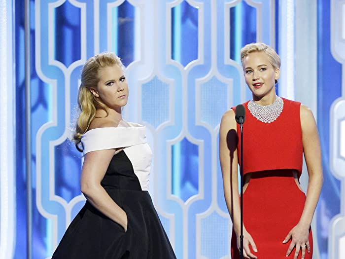 Amy Schumer and Jennifer Lawrence at 73rd Golden Globe Awards (2016)