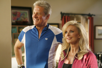 Bruce Boxleitner and Morgan Fairchild in Chuck (2007)
