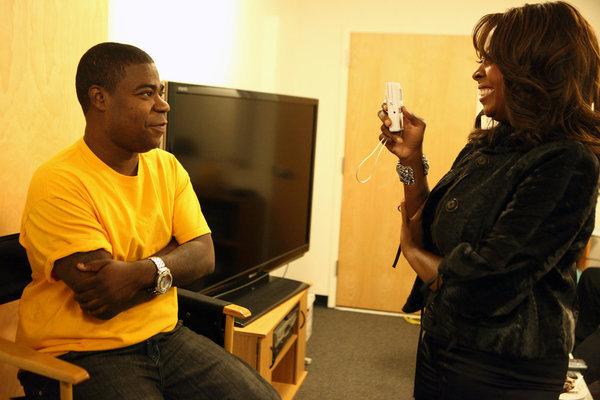 Star Jones and Tracy Morgan in The Apprentice (2004)