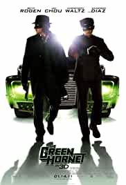 The Green Hornet 2011 BRRip 720p 1GB Org Hindi Dubbed DD 5.1 ESubs MKV