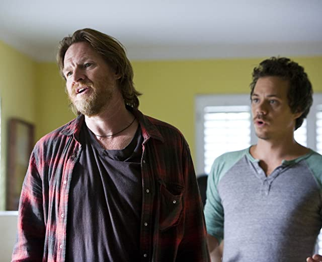Donal Logue and Michael Raymond-James in Terriers (2010)