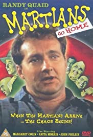Martians Go Home Poster