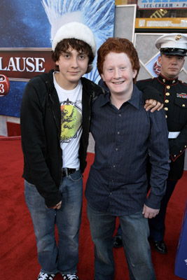 Daryl Sabara and Charlie Stewart at The Santa Clause 3: The Escape Clause (2006)