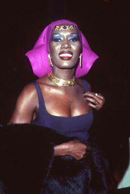 Grace Jones at Evita (1996)
