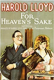 For Heaven's Sake (1926) Poster - Movie Forum, Cast, Reviews