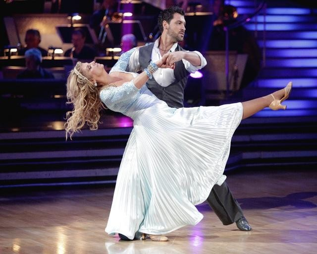 Kirstie Alley and Maksim Chmerkovskiy in Dancing with the Stars (2005)