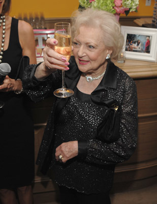 Betty White at an event for Hot in Cleveland (2010)