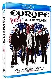 Europe: Live at Shepherd's Bush, London 2011 Poster