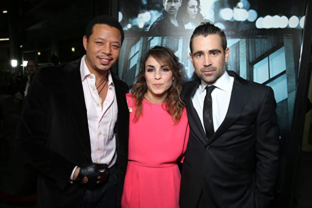 Terrence Howard, Noomi Rapace and Colin Farrell at FilmDistrict's World Premiere of