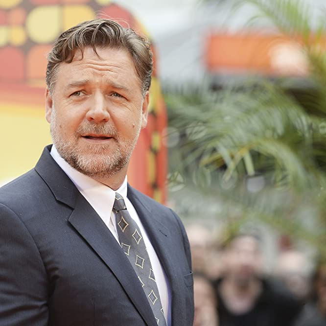 Russell Crowe at an event for The Nice Guys (2016)