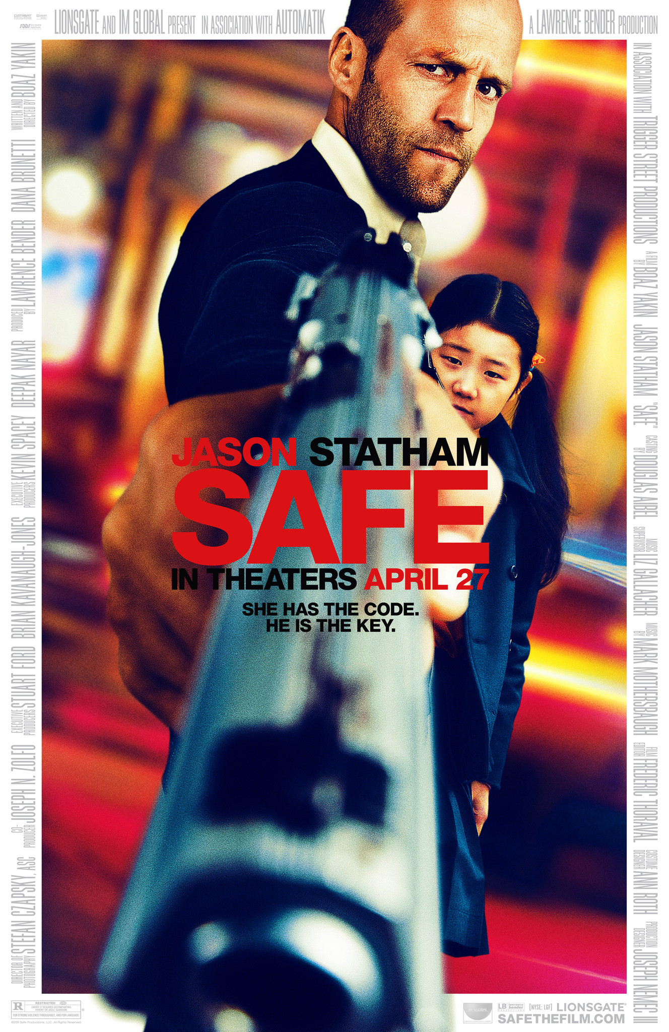 Safe 2012 Hindi Dubbed