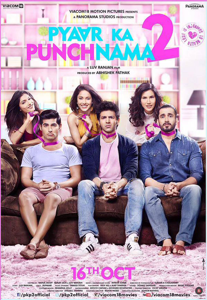 Pyaar Ka Punchnama 2 2015 720p HEVC WEB-DL 300MB Movies