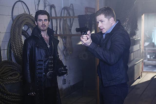 Colin O'Donoghue and Josh Dallas in Once Upon a Time (2011)