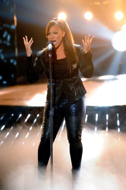 Melanie Amaro in The X Factor (2011)