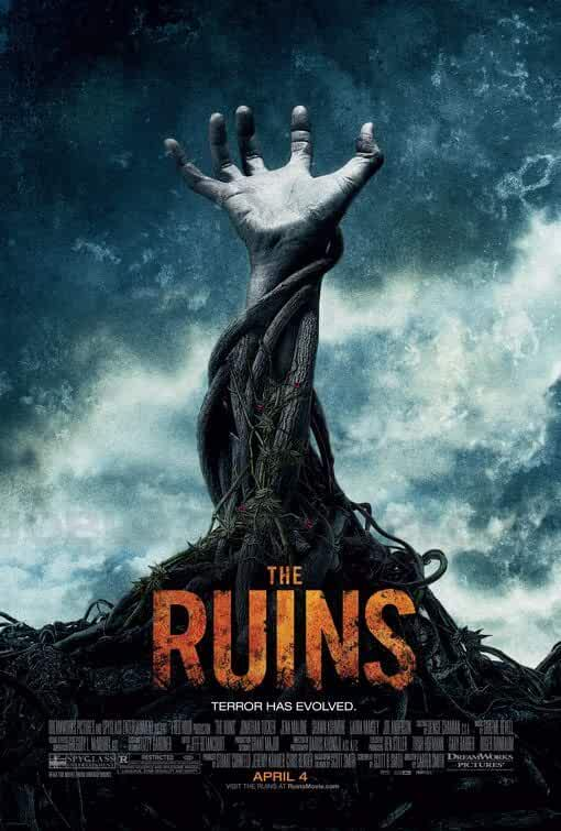 Poster The Ruins 2008 Full HD Movie Download Dual Audio Hindi Dubbed 720p