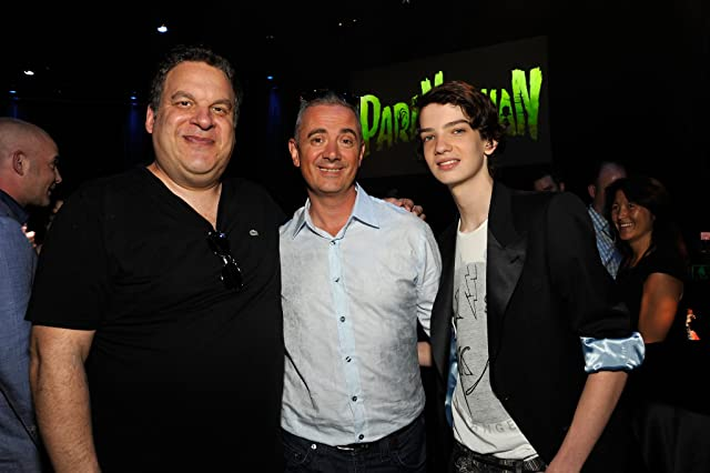 Sam Fell, Jeff Garlin, and Kodi Smit-McPhee at ParaNorman (2012)