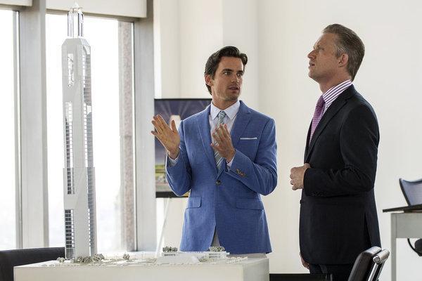 Matt Bomer and Reed Diamond in White Collar (2009)