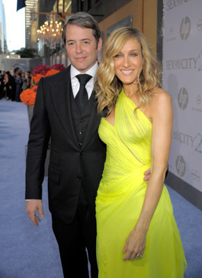 Matthew Broderick and Sarah Jessica Parker at Sex and the City 2 (2010)