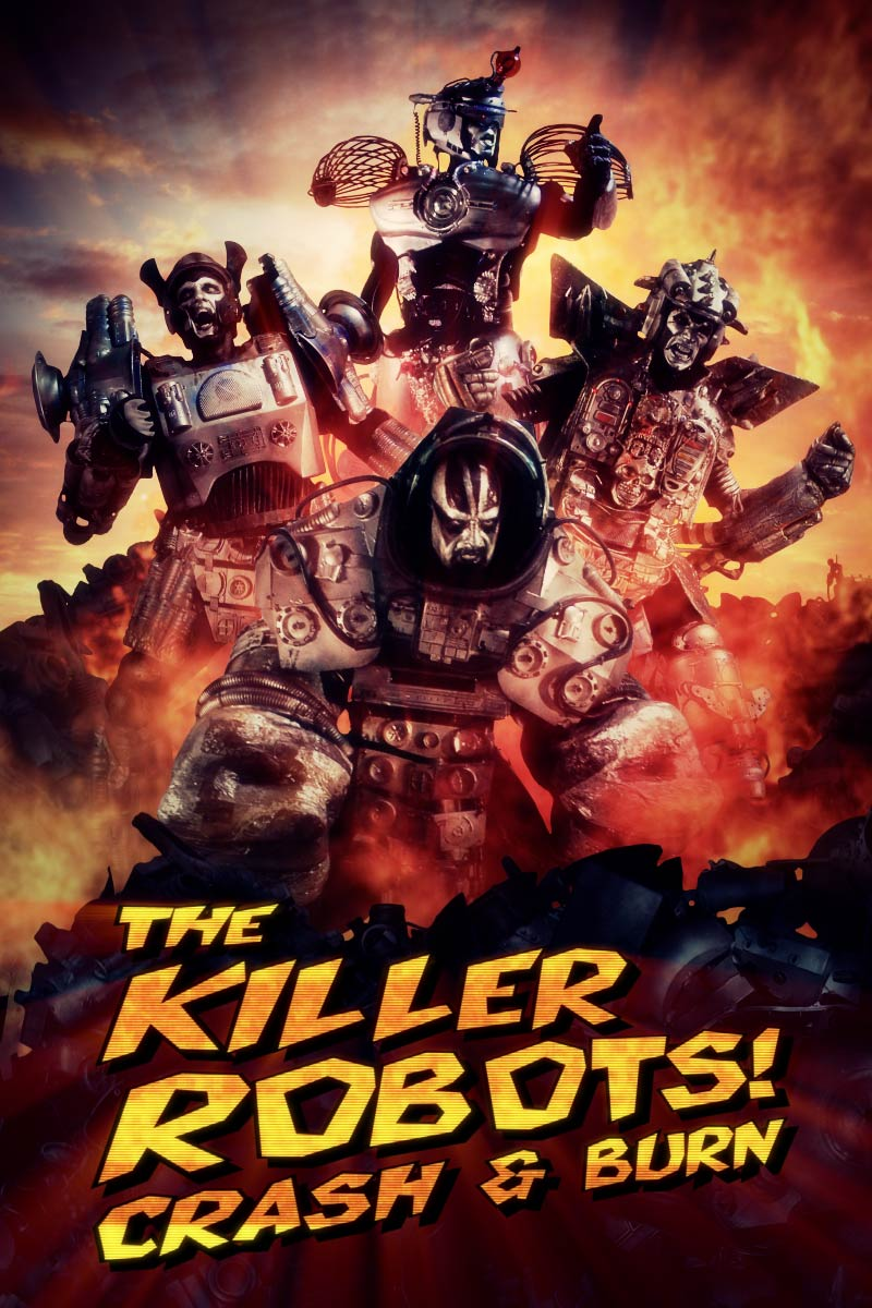 image The Killer Robots! Crash and Burn Watch Full Movie Free Online