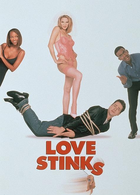 Bill Bellamy, French Stewart, and Bridgette Wilson-Sampras in Love Stinks (1999)