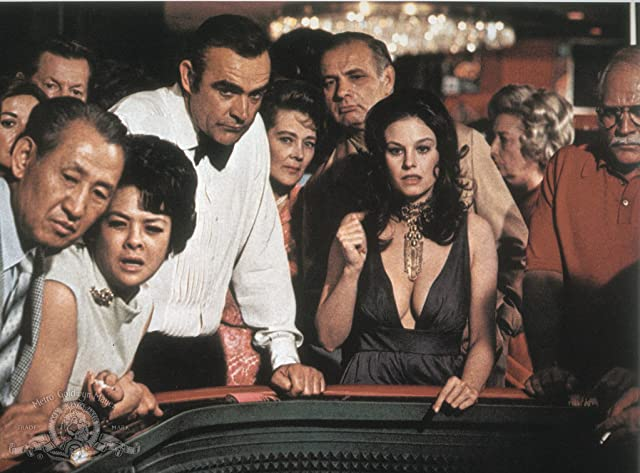 Sean Connery and Lana Wood in Diamonds Are Forever (1971)