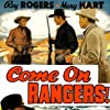 Roy Rogers, Lynne Roberts, and Harry Woods in Come on, Rangers! (1938)