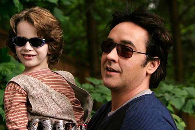 John Cusack and Bobby Coleman in Martian Child (2007)