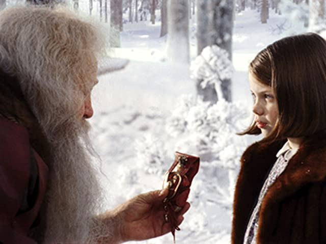 James Cosmo and Georgie Henley in The Chronicles of Narnia: The Lion, the Witch and the Wardrobe (2005)