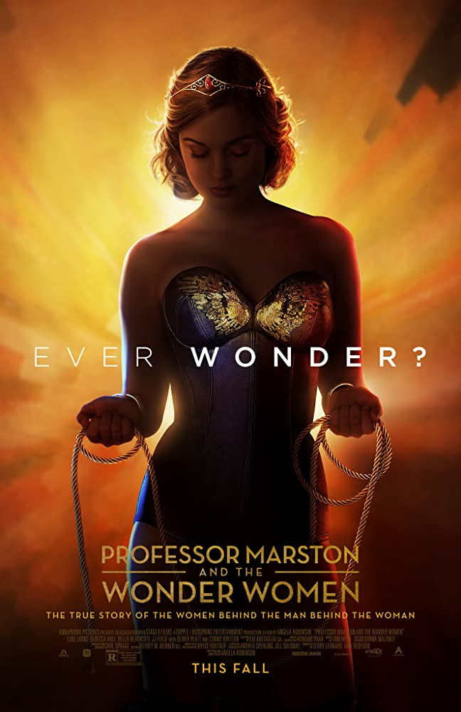 movie poster for Professor Marston and the Wonder Women