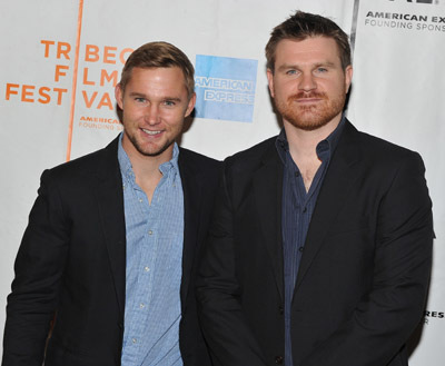 Brian Geraghty and Andrew Paquin