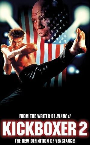 Poster Kickboxer 2 - Der Champ kehrt zurück