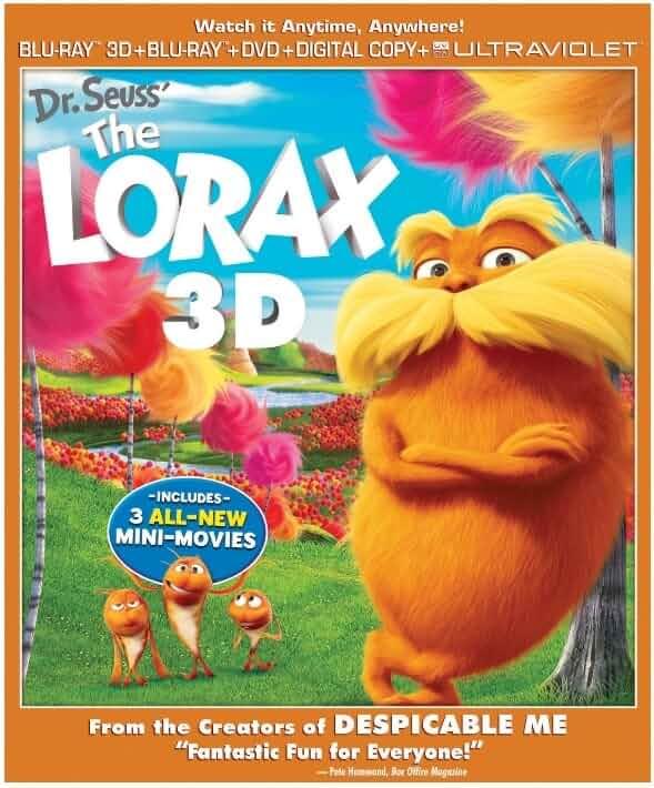 Dr. Seuss The Lorax 2012 Hindi Dual Audio BluRay 720p 750MB