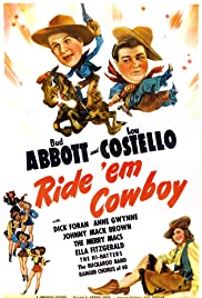 Ride 'Em Cowboy (1942) Poster - Movie Forum, Cast, Reviews