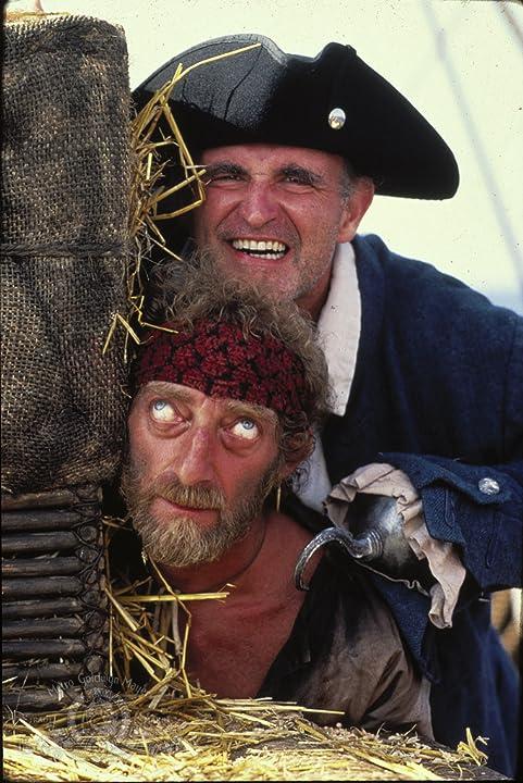 Marty Feldman and Peter Boyle in Yellowbeard (1983)